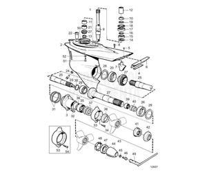 volvo penta dp series outdrives transmissions engine