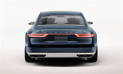 2017 Lincoln Continental Concept by 2017 Lincoln Continental Previewed By New York Auto Show
