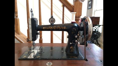 davis vertical feed sewing machine youtube