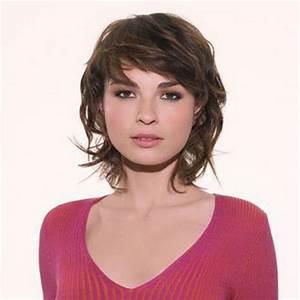 Coupe Carré Visage Rond : coupe de cheveux femme mi long visage rond ~ Melissatoandfro.com Idées de Décoration