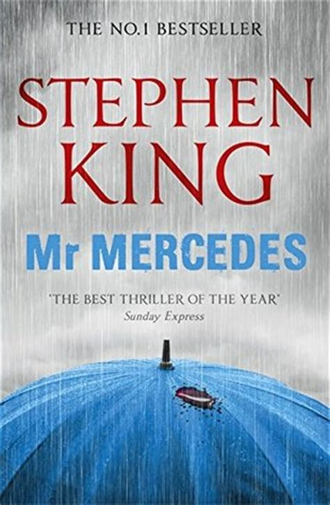 This is the first book in a trilogy. My Expanding Bookshelf: Book Review: Mr Mercedes (Bill Hodges Trilogy #1), Stephen King