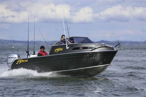 Fishing Boat Reviews Nz by Fyran 550 Boat Review The Fishing Website