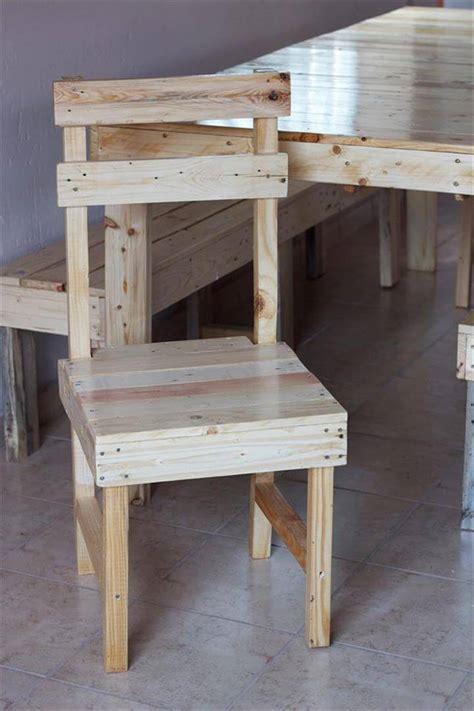 diy pallet farmhouse dining furniture set 99 pallets