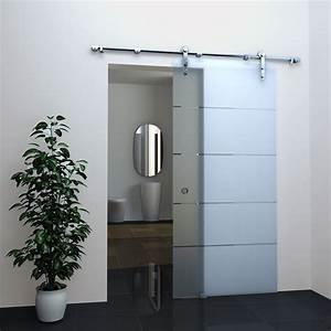 Schiebetür Bad Abschließbar : glas schiebet r stripes in 77 5 x 205 cm ~ Michelbontemps.com Haus und Dekorationen