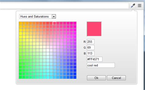 firefox color picker colorzilla for firefox screenshots
