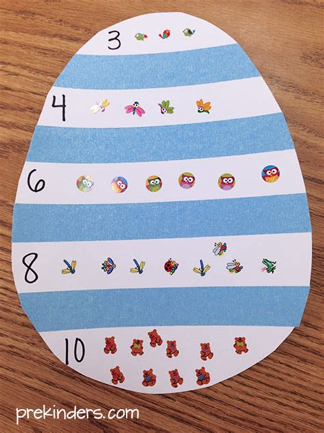 easter counting for preschool math prekinders 670 | counting egg1