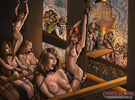 Commission Pirate Slave Galley By Docredfield Hentai