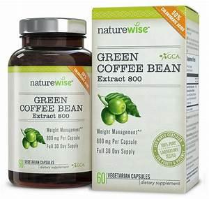 Green Coffee Bean Extract Gca Natural Weight Loss Supplement Usa Made Diet Pills 610395887256