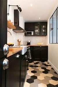 cuisine carreaux ciment 12 photos de cuisines tendance With couleur tendance deco salon 5 cuisine photo 12 cuisine elegante avec touche de gris