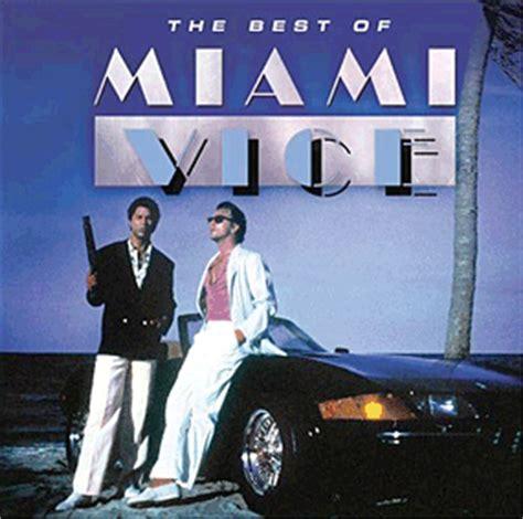 miami vice tv soundtrack compilation