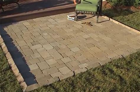 home dzine garden add a paved patio area