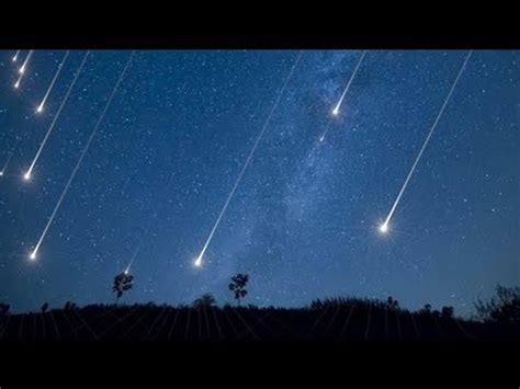 lyrids meteor shower  april  youtube