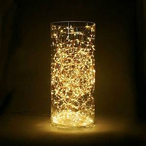Copper Wire String Light Cr2032 Battery Powered Tiny Led String Lights Decoration Light For
