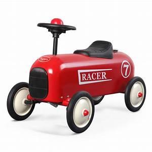 Porteur Voiture Vintage : porteur baghera racer rouge pour enfant d s un an ~ Teatrodelosmanantiales.com Idées de Décoration