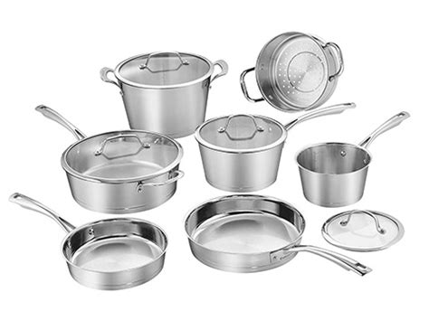 stainless steel cookware sets reviews