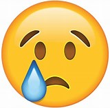 Image result for crying face emoji