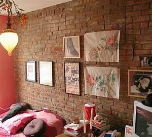 Brick walls modern interior design meeting rooms