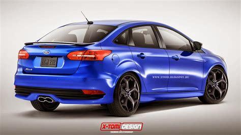 2015 Ford Focus St Sedan, Wagon Rendered