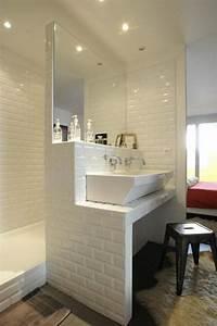 Aménager Salle De Bain : comment am nager une petite salle de bain id es maison pinterest salle salle de bain et ~ Melissatoandfro.com Idées de Décoration