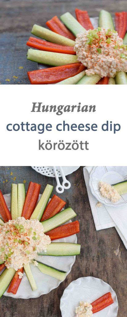 Hungarian Cottage Cheese by Hungarian Cottage Cheese Dip K 246 R 246 Z 246 Ttenjoy Tribute