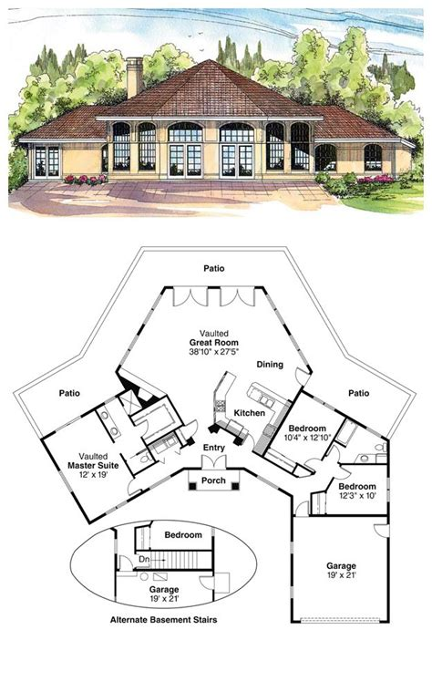 amazing floor plans 16 best octagon style house plans images on