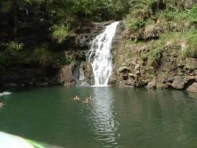 Waimea Falls Honolulu Hawaii