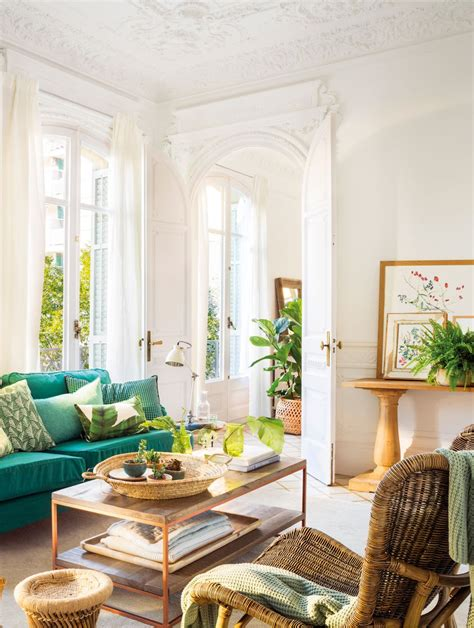 sofa verde para salon sal 243 n con sof 225 blanco en l cojines en azul y verde