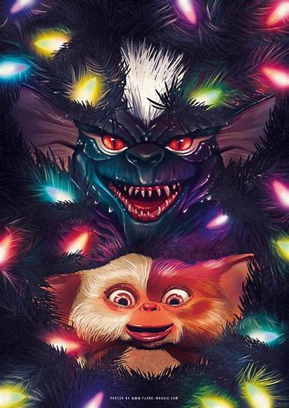 Gremlins Gizmo Poster Flore Movie Maquin Movies