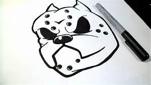 Graffiti Faciles Para Dibujar How To Draw Pitbull Graffiti ...