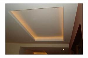 Faire Un Faux Plafond : faire un faux plafond avec spot affordable nous nuavons ~ Premium-room.com Idées de Décoration