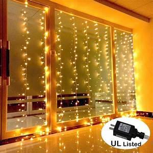 Amars, Safe, Voltage, Bedroom, String, Led, Curtain, Lights, Waterfall, Window, Lights, Outdoor, Indoor, Led