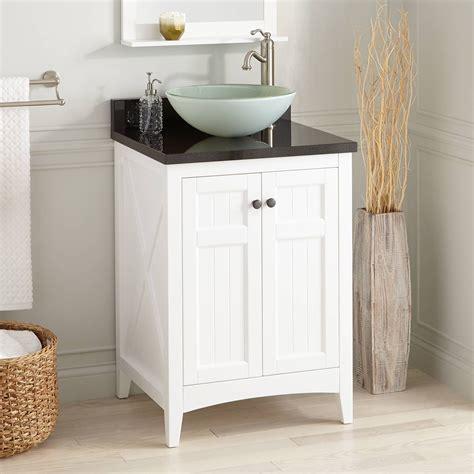 alvelo vessel sink vanity white bathroom