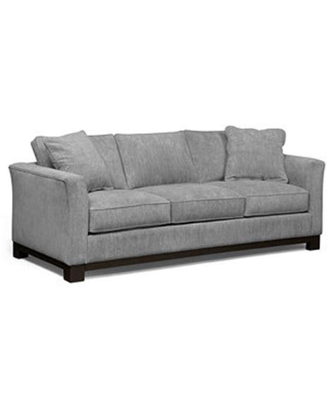 kenton fabric sofa custom colors furniture macy s