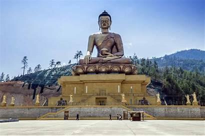 Bhutan Buddha Dordenma Thimphu Temples Giant Statue