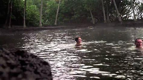 big island hawaii part  ahalanui hot pond youtube