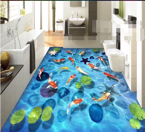 flooring wallpaper custom waterproof  flooring pvc