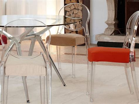 sedie in policarbonato igloo chair comfort sedia in policarbonato con cuscino