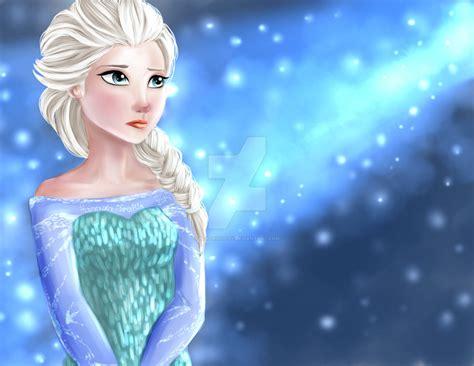 Ice-olation (elsa, Frozen) By Blackivoryy On Deviantart