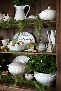 Pinterest Decoration : french country cottage french country cottage christmas home tour use fresh greenery anywhere ~ Melissatoandfro.com Idées de Décoration