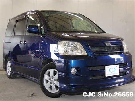 2002 toyota noah blue for sale stock no 26658
