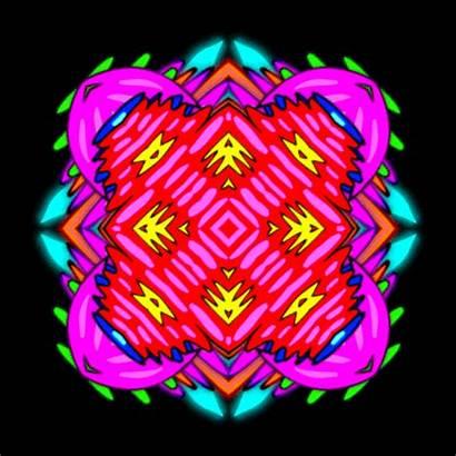 Kaleidoscope Gifs Psychedelic Abstract Wifflegif