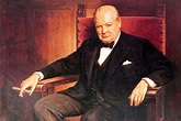 Sir Winston Churchill remembered for his love of painting ...