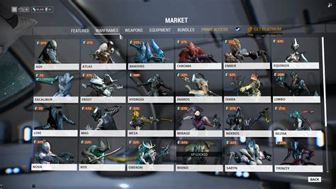 mp market warframes