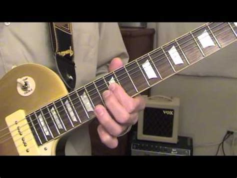 Pick Up The Pieces  Jazz Guitar Lesson Youtube