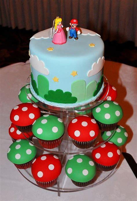 Retail Hell Underground Geeky Wedding Cakes Super Mario