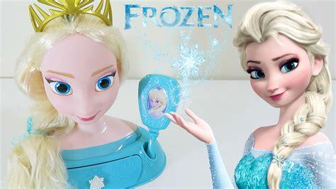 Disney Princess Frozen Elsa Majestic Styling Head Toy