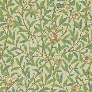 Papier Peint Art Nouveau : william morris wallpaper birds images ~ Dailycaller-alerts.com Idées de Décoration