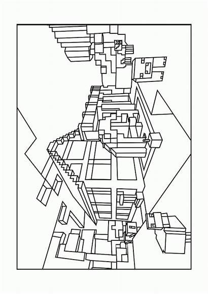 Minecraft Creeper Imprimer Dessin Coloring Printable Unique