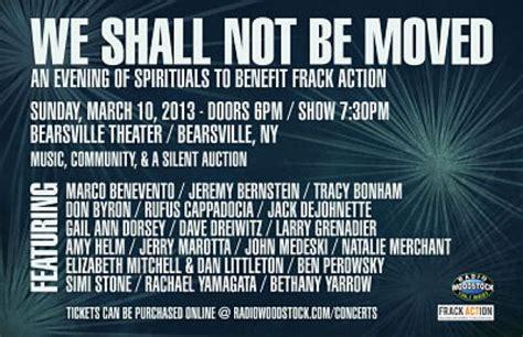 Frack Action Benefit Concert 3/10/13 In Woodstock