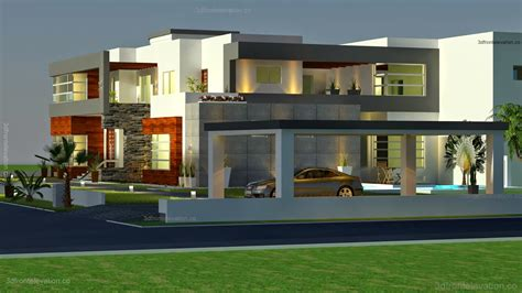 contemporary house plans 3d front elevation com 500 square meter modern contemporary house plan design 3d front elevation